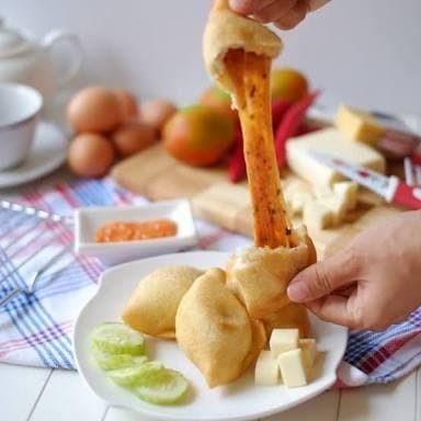 ... Indosaji Pizza Goreng 370gram Isi 6pcs