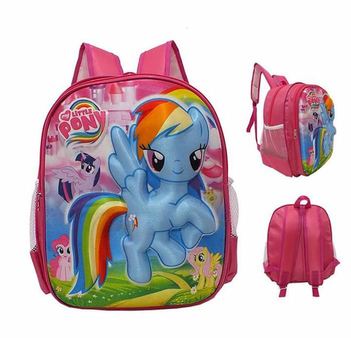 Jual My Little Pony Tas Kuda Poni Pink Baru Tas Anak Tas Ransel Tas Timbul Kota Bandung Toko Tas Anak Dan Remaja Tokopedia