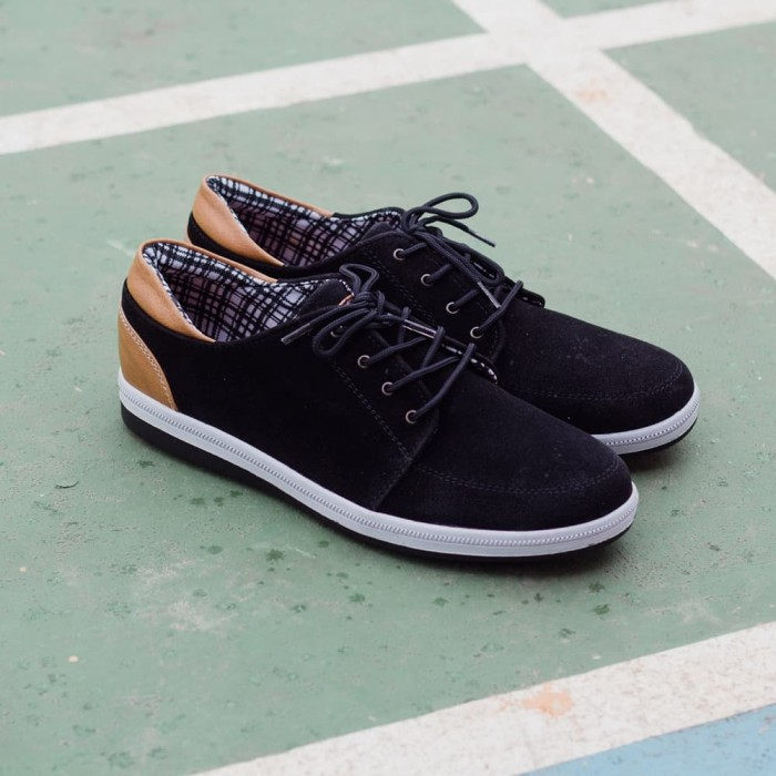 harga Sepatu kulit suede handmade casual bandung pria murah - jack ankona Tokopedia.com
