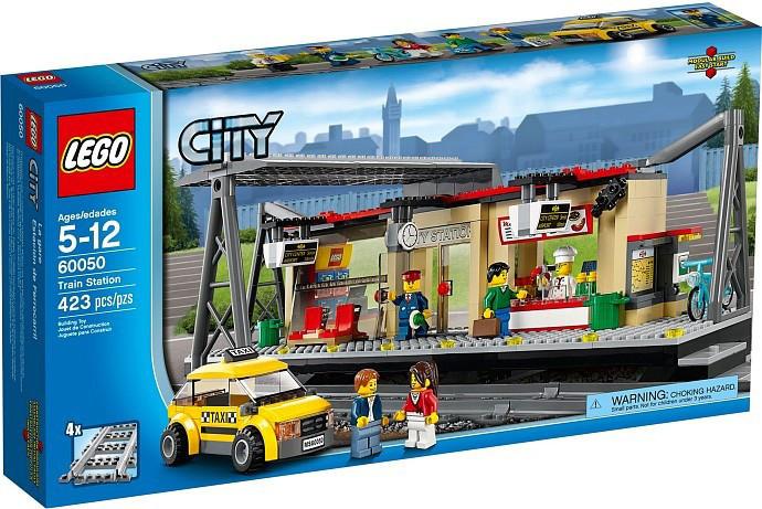 Jual Mainan toys lego city stasiun kereta api train ...