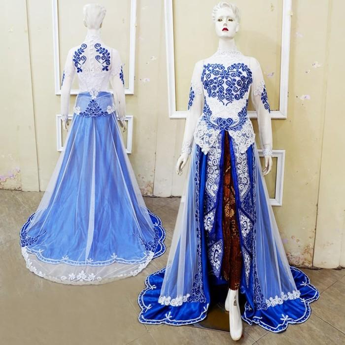 Jual Kebaya Pengantin Modern Cantik Elegan Gaun Pengantin Simple Kota Surakarta Butik My Kebaya Tokopedia