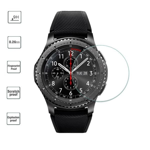 harga Tempered glass samsung gear s4 42 mm samsung watch 42mm real glass Tokopedia.com