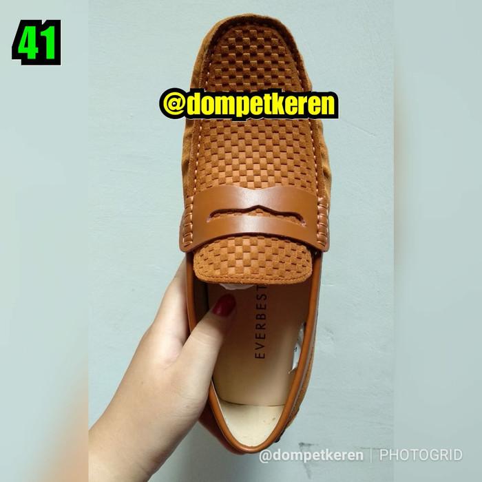 harga Sepatu everbest loafers 100% original brand & leather (imported spore) Tokopedia.com