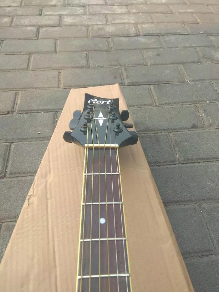 harga Gitar akustrik elektrik model cort extream termurah banyak bonusnya Tokopedia.com
