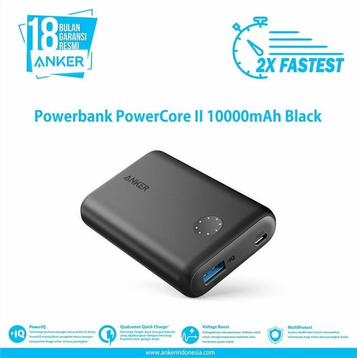 Anker powercore ii quick charge 3.0 gen 2 10000 mah powerbank 10000mah