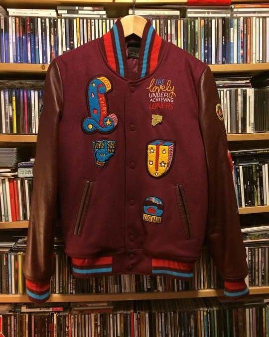 new arrival b3e3d 2be97 Parra x Nike Varsity Jacket ...