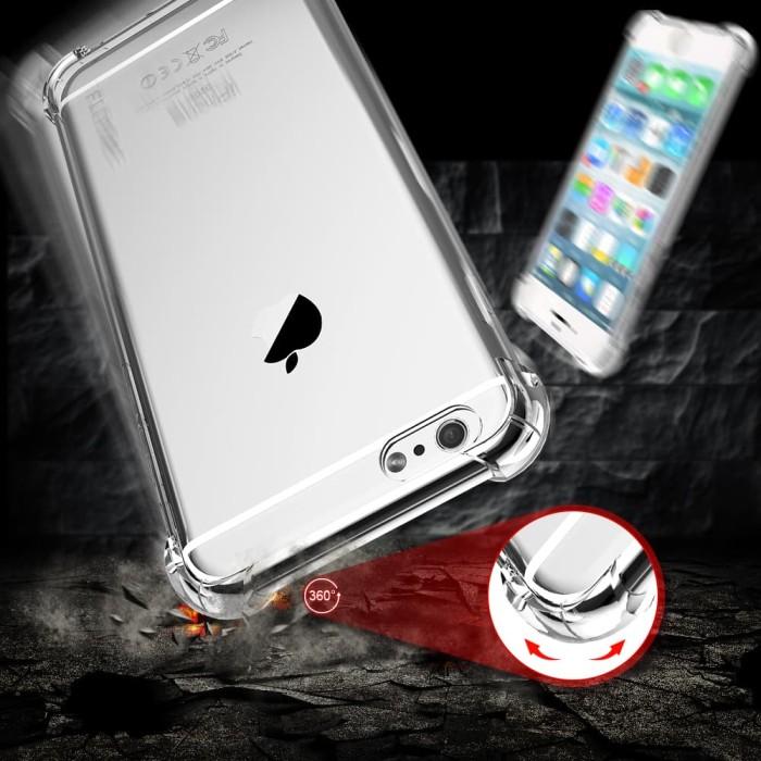 ANTI CRACK CASE IPHONE 6/6S PLUS - Clear - Grey