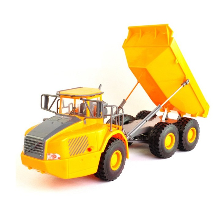 Big Dump Trucks >> Mini Rc Truck Big Dump Truck Engineering Vehicles Loaded Sand Car Toy