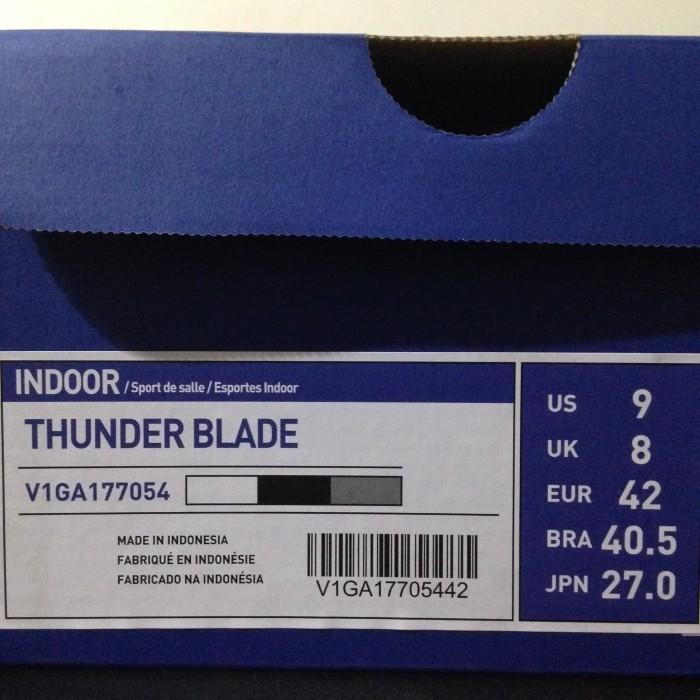 Jual Sepatu Volley Mizuno Thunder Blade White Steel Gray V1GA177054 ... 28a5d85e59