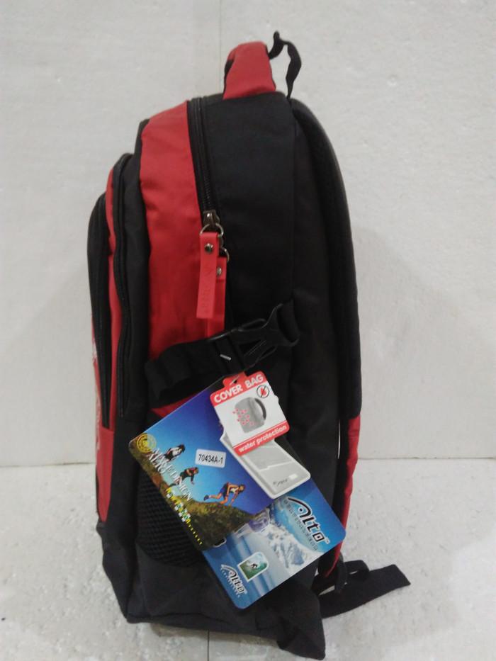2398f4e9bca Jual Tas ransel laptop alto sport boy merah hitam import rain cover ...