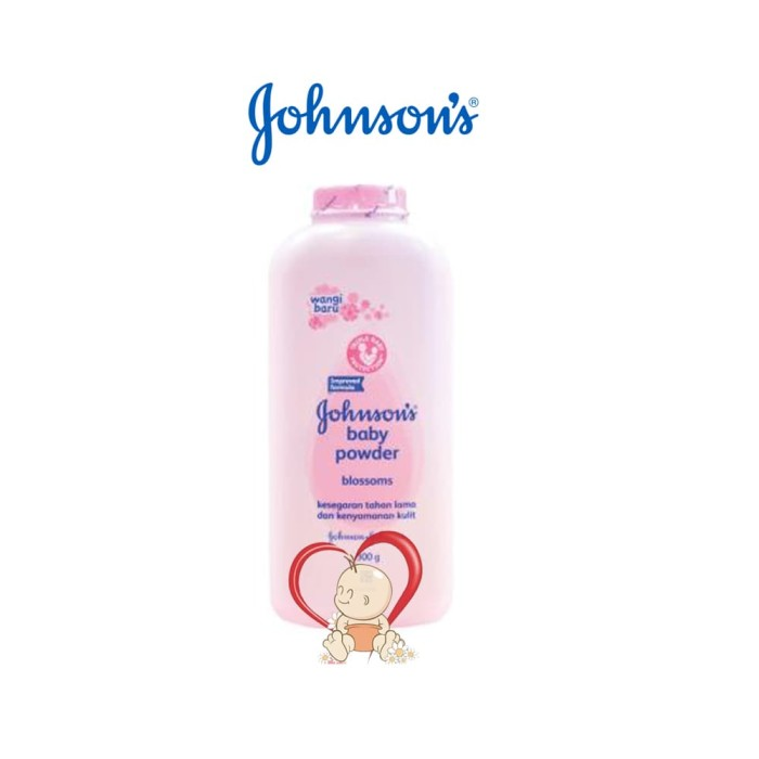 Johnson's Baby Powder Bedak Bayi Blossoms - 300 Gr - Blanja.com
