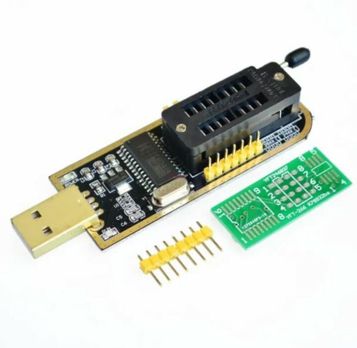 harga Usb eeprom programer ch 341a 24 dan 25 flash bios Tokopedia.com