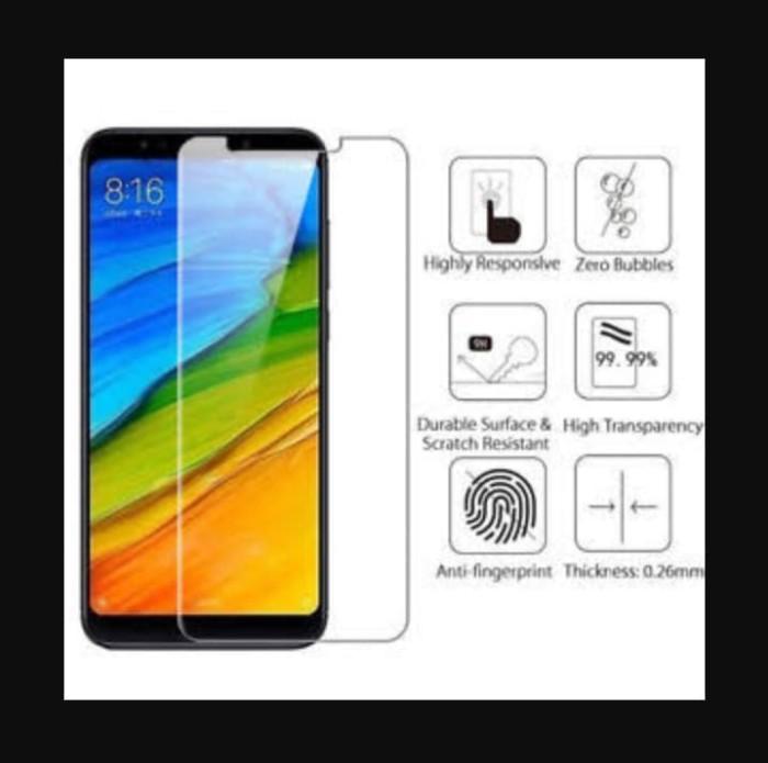 Tempered Glass Xiaomi Redmi Note 5 AI / Note 5 Pro Anti Gores Kaca