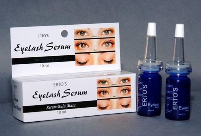 Erto S Eyelash Dan Eyebrow Enhancing Serum Bulu Mata Dan Alis Serum