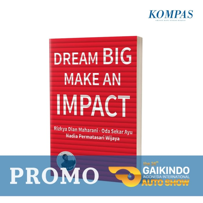 dream big make an impact [promo giias]