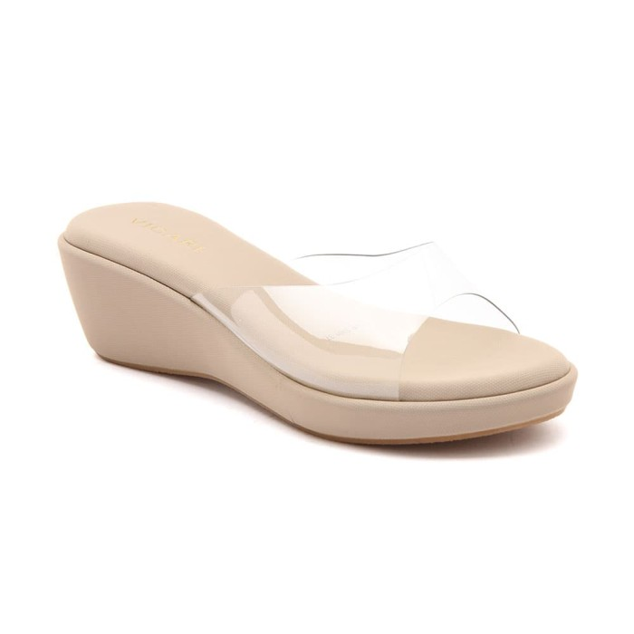 harga Wedges vicari hanna cream ( ve5301 ) - beige 37 Tokopedia.com