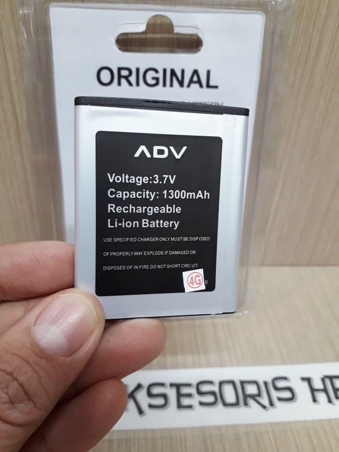 Baterai Advan S4a+ Batre Advan S4a Plus Original Battery 2 Ic 1300mah
