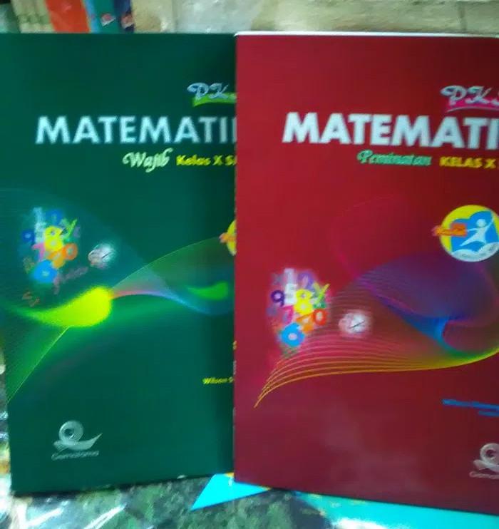 Foto Produk Pks Matematika Kelas X Sma program Wajib dan peminatan Kur 2013Revisi dari Tokobuku Rostangg