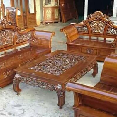 Kursi Tamu Sofa Set Ruang