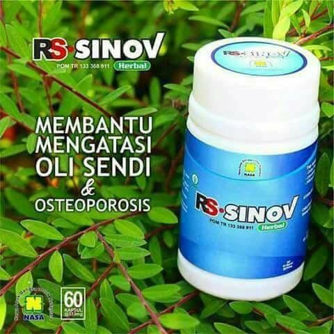 Foto Produk RS-SINOV Obat Herbal Osteoporosis dan Sendi Original NASA dari Stokis Nasa Yogyakarta