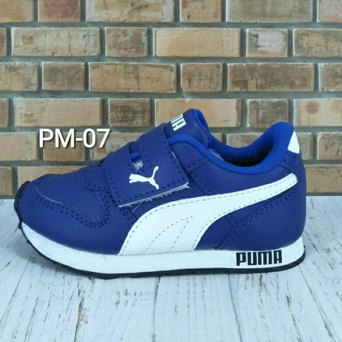 Jual Sepatu Anak Puma Biru Putih 29 Jakarta Pusat Papanya Si