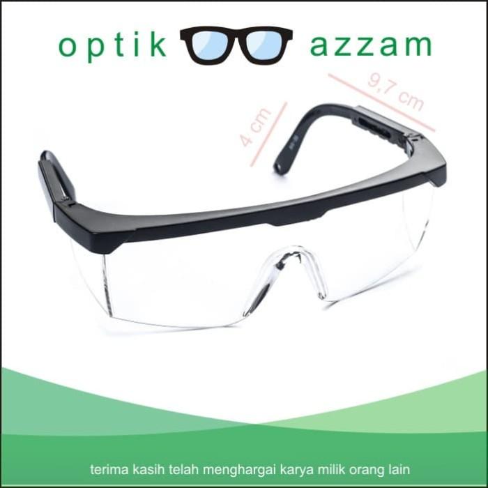 Jual kacamata safety lab gerinda las kerja perlindungan mata - Optik ... 7737986830