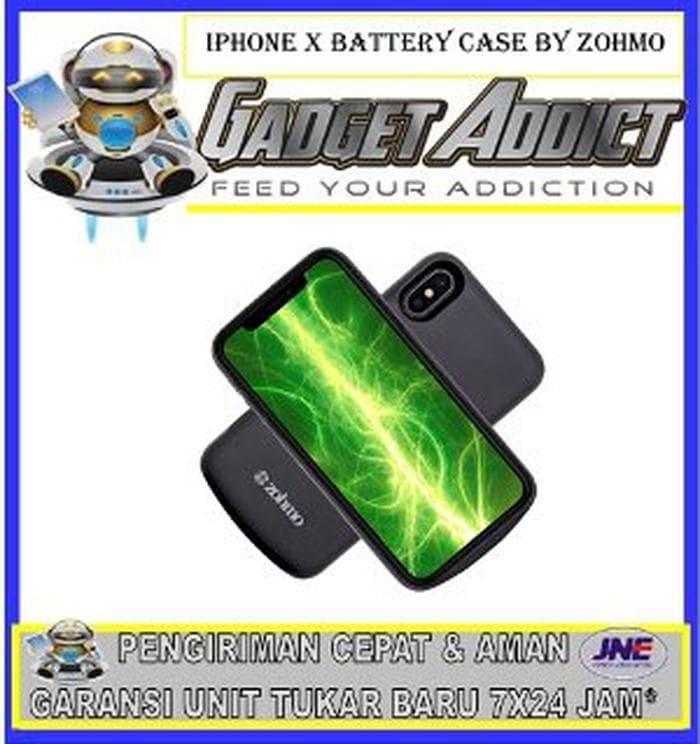 innovative design 2fc5c c05ba Jual iPhone X Battery Case by Zohmo Murah - hilda store445   Tokopedia