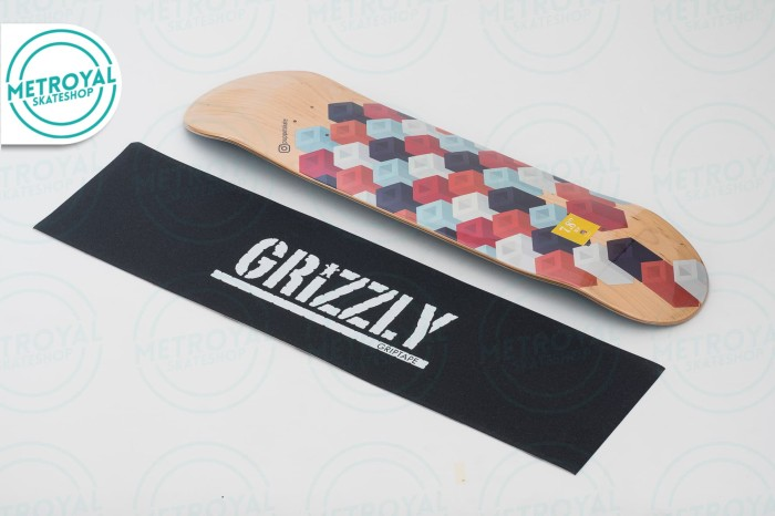 harga Skateboard deck - puppets pattern series 1 cubic 7.8 Tokopedia.com
