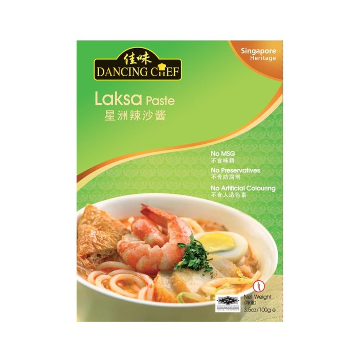 harga Dancing chef singapore laksa paste 100 gr Tokopedia.com