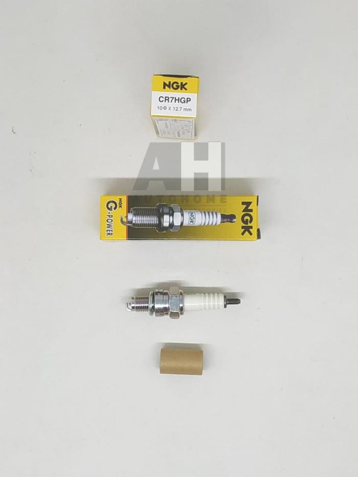harga Busi motor ngk platinum kawasaki d tracker 150 kl125 klx150 cr7hgp Tokopedia.com