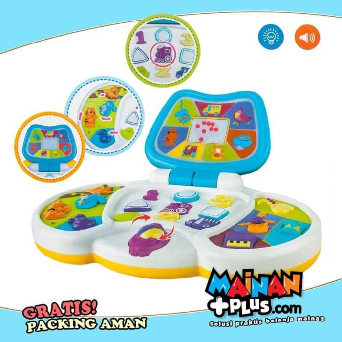 harga Mainan edukasi bayi - baby's learning laptop - free packing aman* Tokopedia.com