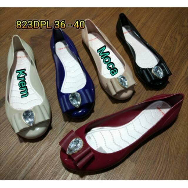 ARORA OLSHOP SEPATU JELLY WANITA Jelly shoes bara bara sepatu wanita p