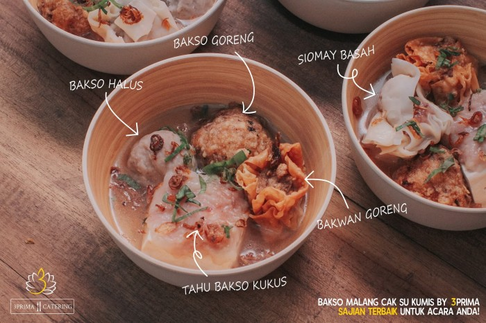 Jual Bakso Malang Cak Su Kumis Jakarta Pusat Tigaprima Catering Tokopedia