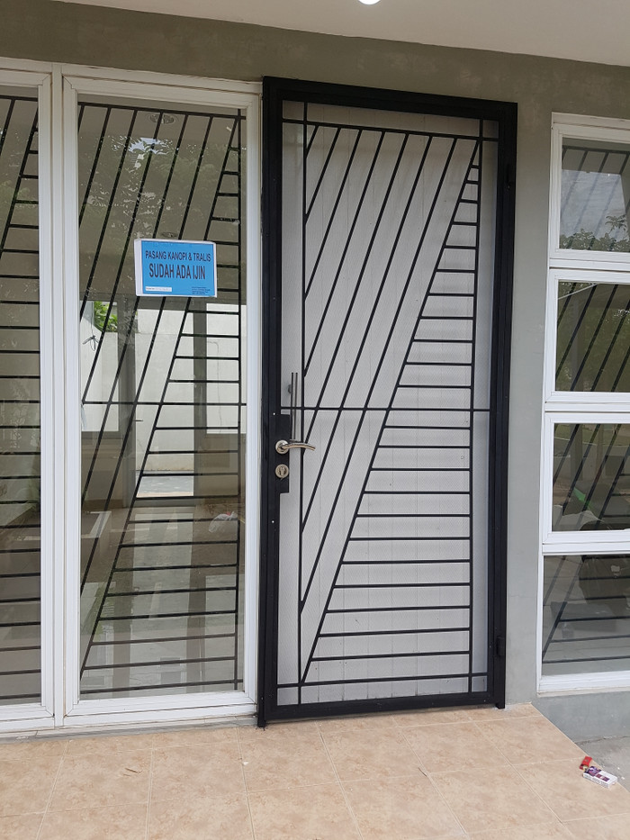 Jual Pintu Besi Dan Teralis Jendela Anti Maling Dan Anti Myamuk