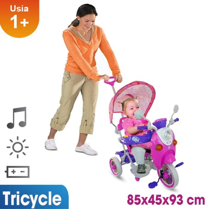 harga Sepeda roda tiga mainan anak t06 pink Tokopedia.com