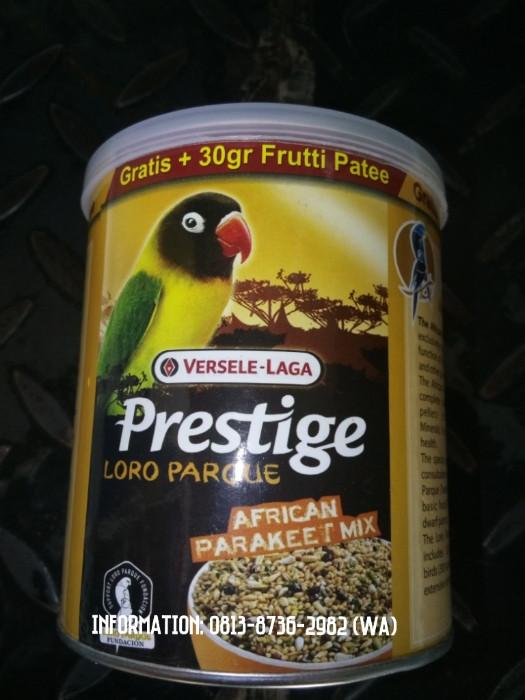 harga Prestige loro parque (pakan premium burung love bird impor belgia) Tokopedia.com