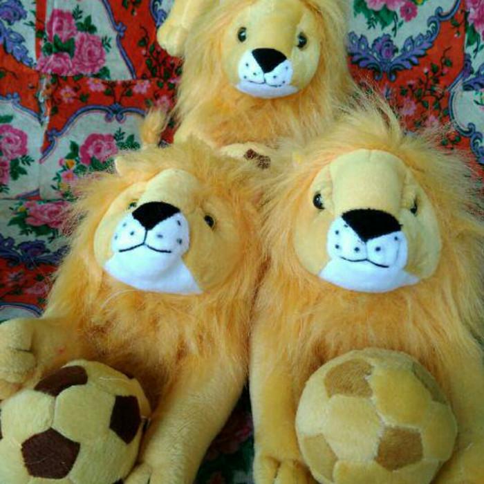 Boneka Singa Arema/ Singo Edan/ Aremania/ Aremanita Murah 50cm