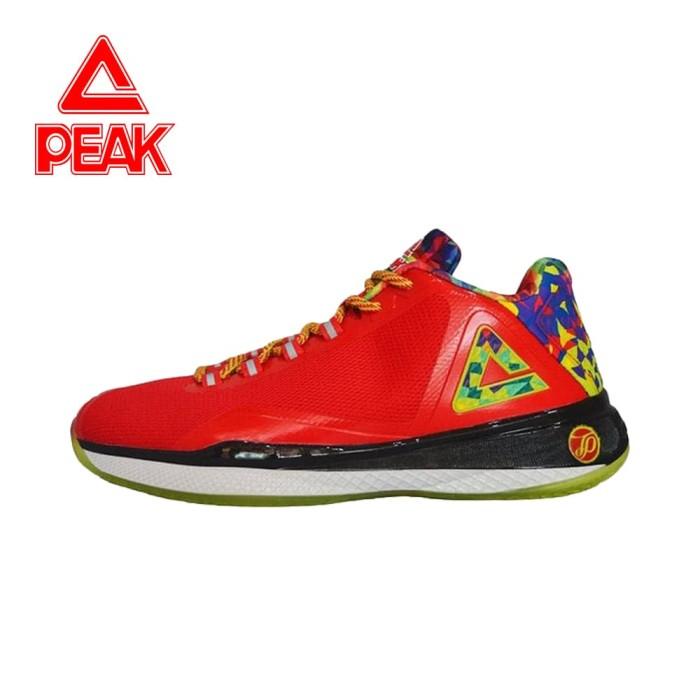 harga Sepatu basket nba peak tony parker iv original 100% - hitam 45 Tokopedia.com