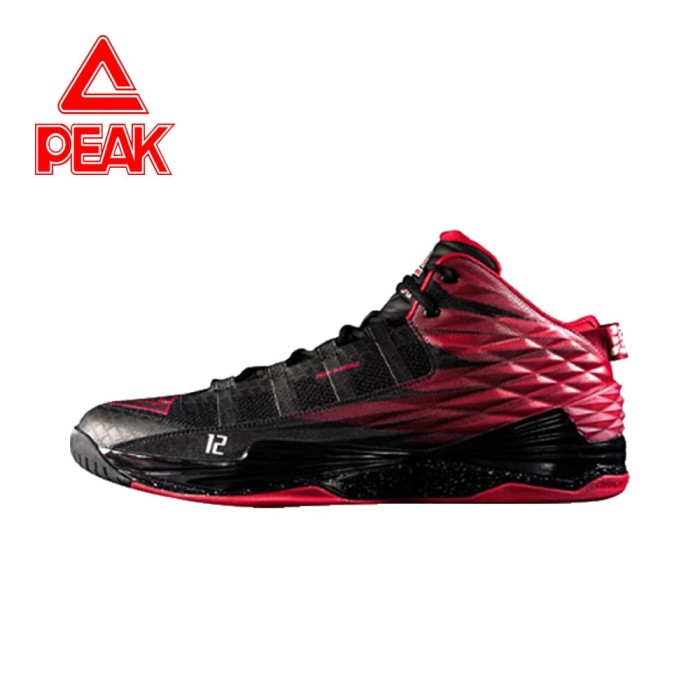 Sepatu Basket PEAK NBA Dwight Howard I Original 100% - E62003A - Abu-abu 6c54b7282b
