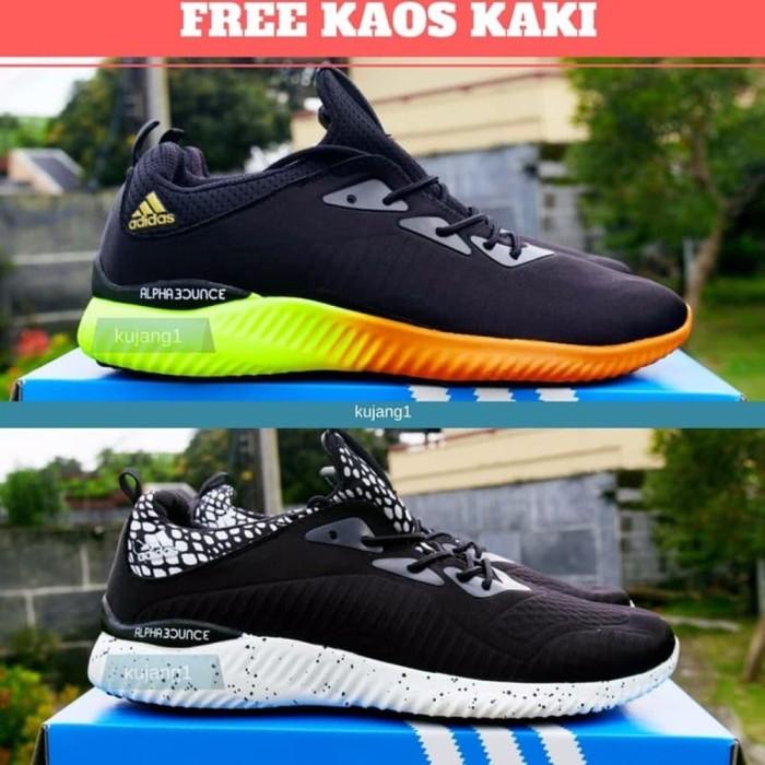 Promo Sepatu Sneaker Pria Import Alpha - Daftar Harga Terlengkap ... 035d45fd8b