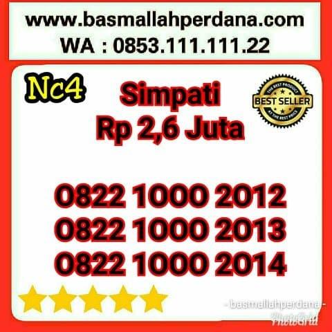 Nomor Cantik Telkomsel Simpati Seri Triple 000 Tahun 2012 2013 2014