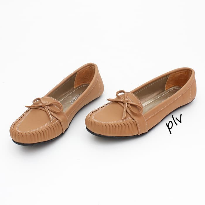 sepatu cewek Sepatu Flat Shoes Murah Gratica RJ28 Moka