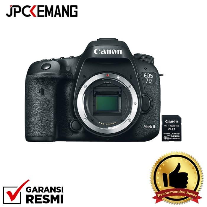 Foto Produk Canon EOS 7D Mark II Body + W-E1 Wifi GARANSI RESMI dari JPCKemang