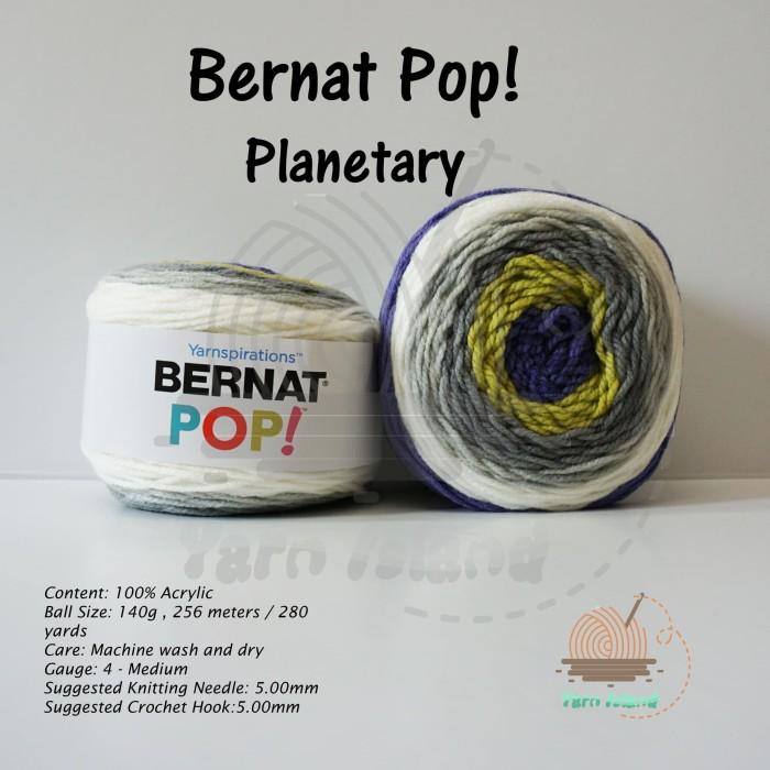 Jual Benang Rajut Bernat Pop Planetary - Kota Tangerang - Yarn Island |  Tokopedia
