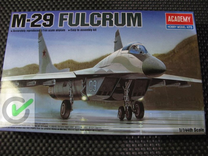 harga Model kit / mokit academy - pesawat mig 29 fulcrum ( m29 ) Tokopedia.com