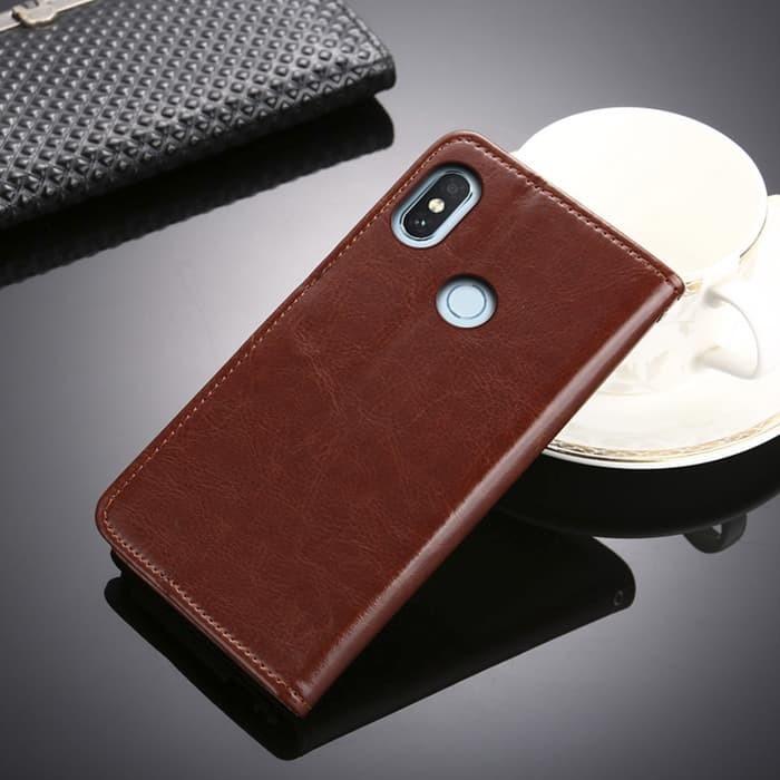 FLIP COVER WALLET case Xiaomi Mi8 Mi 8 casing hp leather dompet kulit