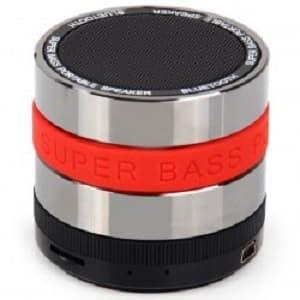 harga Mini metal super bass portable bluetooth speaker - s302 - red Tokopedia.com