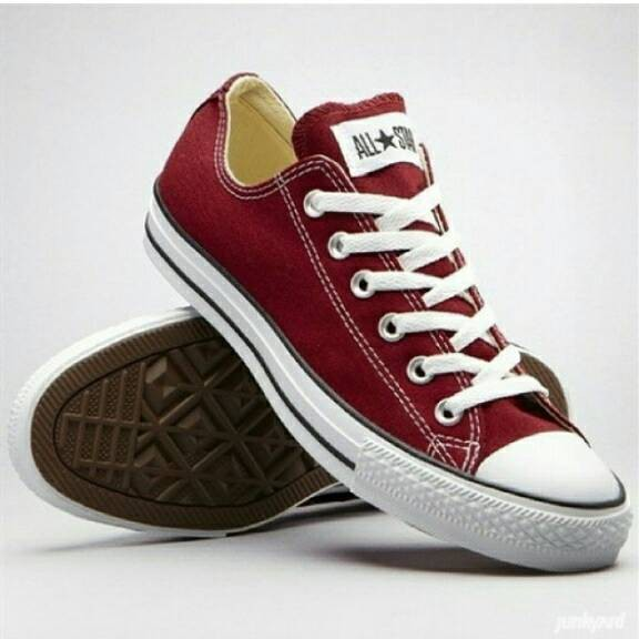 ce99a73e08f8 Jual Sepatu Converse All Star Merah Marun Non Ori Plus Box - Vienna ...