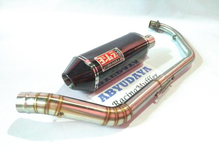Foto Produk knalpot yoshimura usa carbon for GSX150 cb150 cbr150 R15 vixion dll dari ABYUDAYA Racing muffler