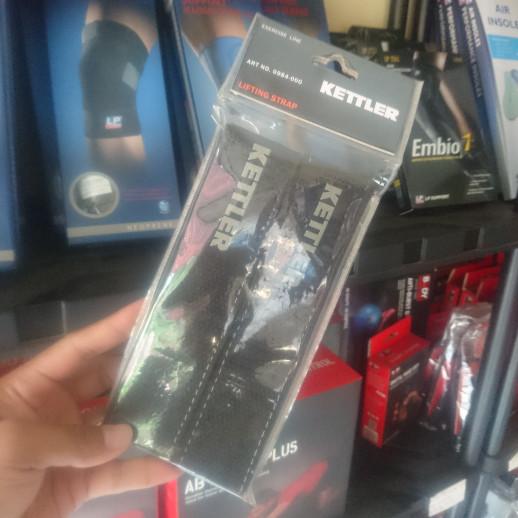 harga Kettler kettfit weight lifting strap black (2pcs) Tokopedia.com